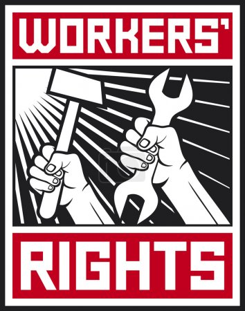 Worke's rights poster