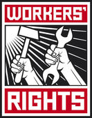 Worker's rights poster