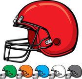 American football helmet collection