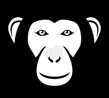 Monkey head (ape head, monkey face)