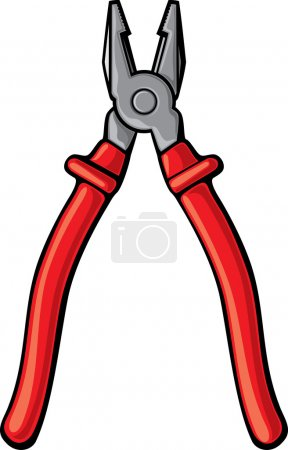 Red pliers