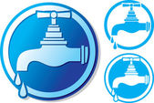Water tap symbol