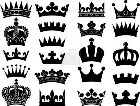 Crown collection (crown set, silhouette crown set)