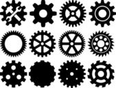 Gear collection machine gear (wheel cogwheel set of gear wheels collection of gear)