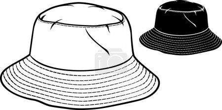 Bucket hat collection (bucket hat set)
