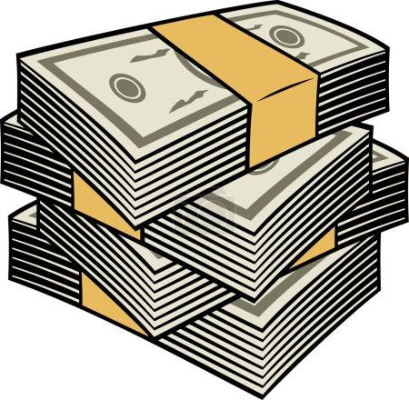 Big stack of money
