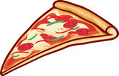 """Постер, картина, фотообои """"Pizza slice"""""""