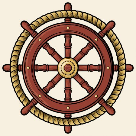 Rudder design (badge, emblem)