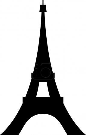 Конструкция парижской Эйфелевой башни (икона Эйфелевой башни, эскиз парижской Эйфелевой башни) )