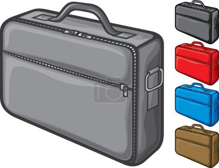 Illustration for Bag for laptop (notebook bag) - Royalty Free Image