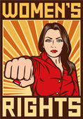 Womens rights poster