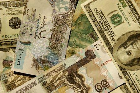 Photo pour Papier monnaie du monde différent - image libre de droit