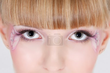 Photo for Close up of eye make up - Royalty Free Image