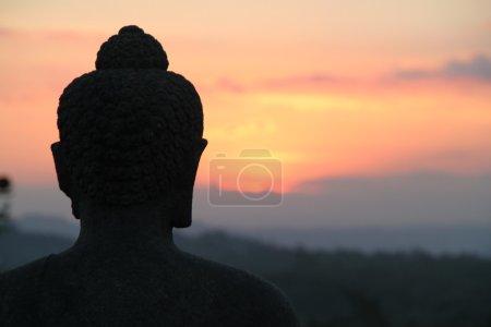 Photo for Borobodur Sunset - Royalty Free Image