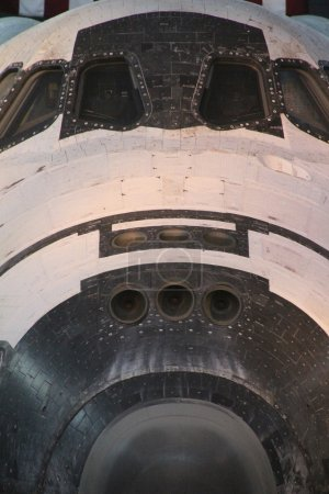 NASA's space shuttle Discovery on display at the Smithsonian National Air and Space Museum Steven F. Udvar-Hazy Center.