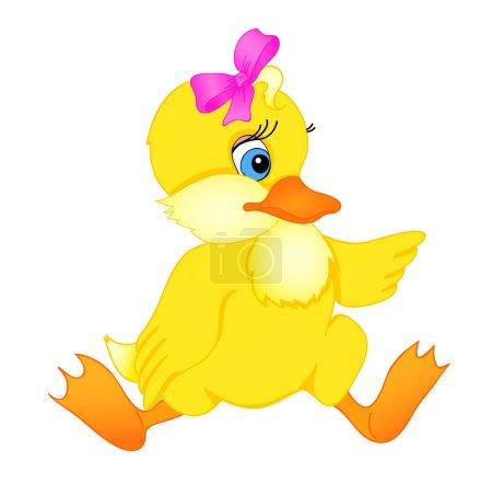 Little duck cartoon