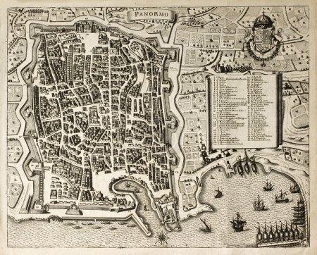 carte de vieux Palerme 2