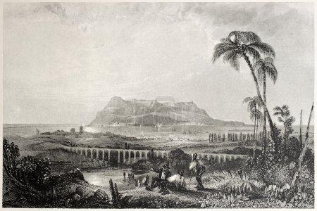 Gibraltar from Algeciras