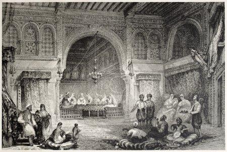 Moorish interior
