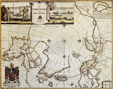 North Pole old map