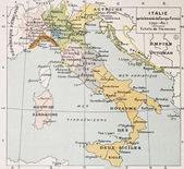 Italy between the end of 18th century and the begi