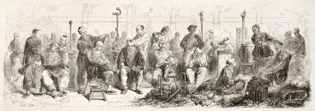 Itinerant barbers