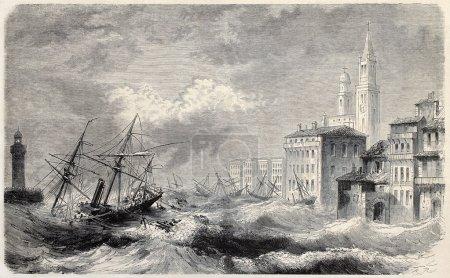 Bastia shipwreck