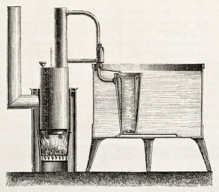 Domestic cooling apparatus