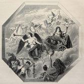 "Постер, картина, фотообои ""Триумф Людовика XIV"""