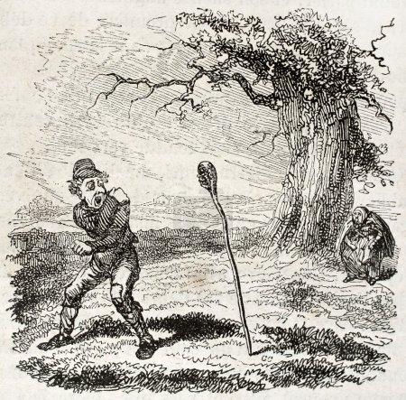 Beggar stick