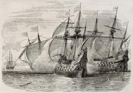 Sea battle