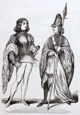 French costumes