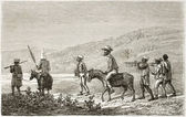 Men travelling