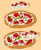 Italian handmade pizza 1