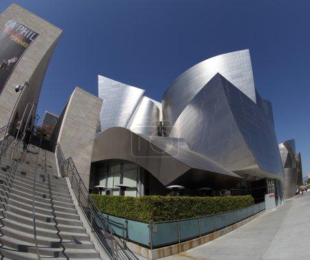 Walt Disney Concert Hall in Los Angeles, CA