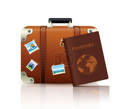 Illustration for Travel Icon - Royalty Free Image