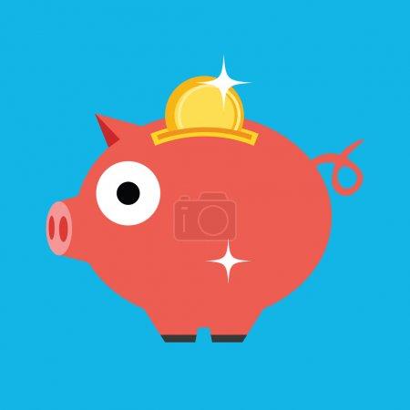 Vector Moneybox Icon