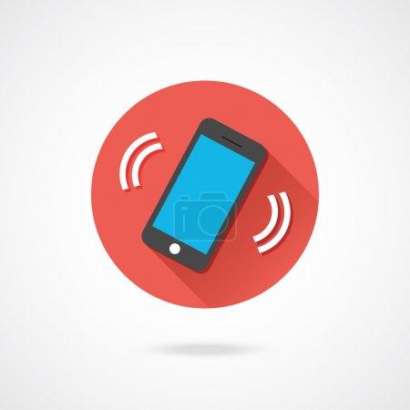 Vector Ringing Phone Icon