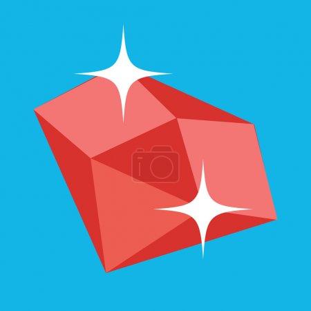 Vector Ruby Icon