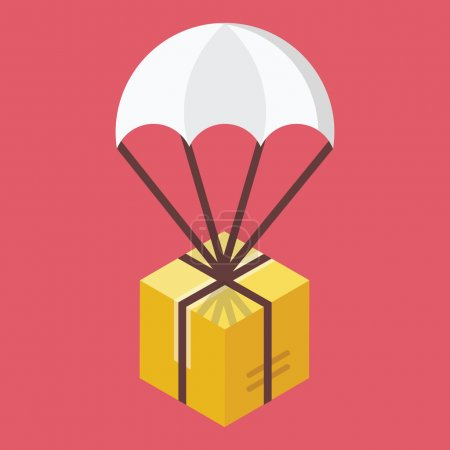 Vector Delivery Icon Global Delivery Concept