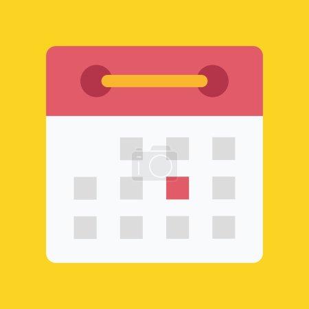 Vector Flat Calendar Icon