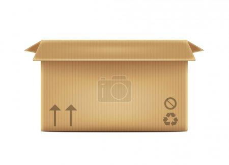 Ilustración de Caja abierta - Imagen libre de derechos