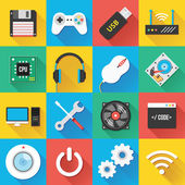 Modern Flat Icons for Web and Mobile Applications Set 3