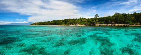 Panoramic views of the tropical island of the Philippines