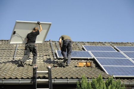 Photovoltaic panals installation