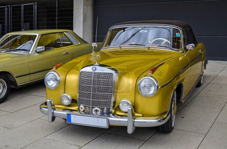 Old Mercedes vintage car