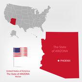AmericanMap Arizona a