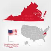 AmericanMap Virginia