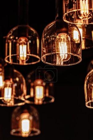 décor d'ampoule d'éclairage