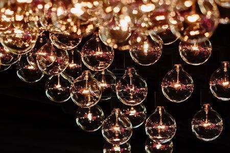 Photo pour Décor d'ampoule, Gros plan - image libre de droit